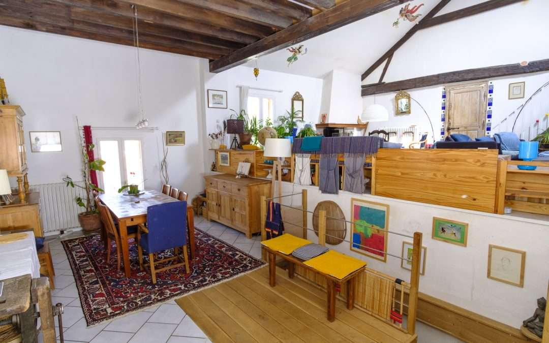 For Sale in France: House with Studio + B&B 1hr East of Paris