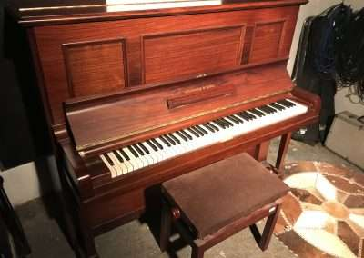 Steinway upright for sale Model K mjq.co.uk May 2020