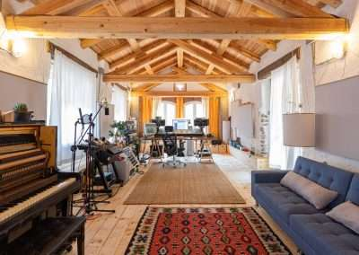 For Rent in Northern Italy: Residential Recording Studio MJQ July 2020