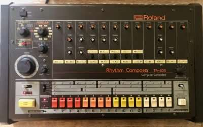 Roland TR-808 Drum Machine with Kenton mod (needs service)