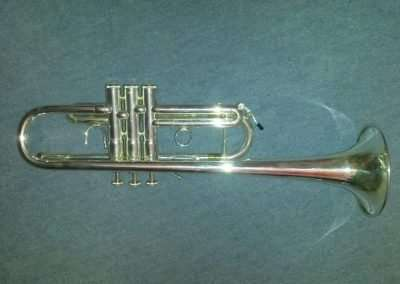 'C' French Besson Trumpet For Sale