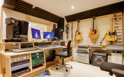 For Sale in London Fields E8: Flexible Recording Studio with Residential Planning (150 Year Lease)