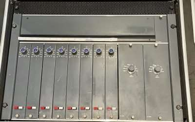 8x Neve 33117 Preamps Racked for Mobile or Studio Use For Sale