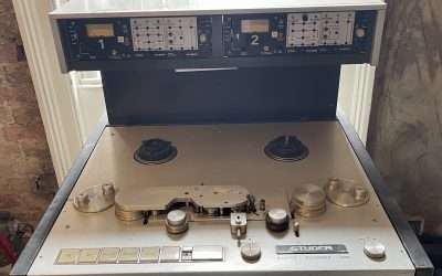 Studer A80 Master Recorder (Early Model, Serial Number 0004) For Sale