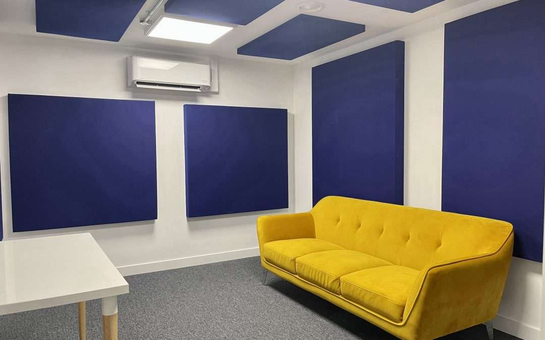To Let in North West London Multiple Recording Studio Spaces and Production Rooms
