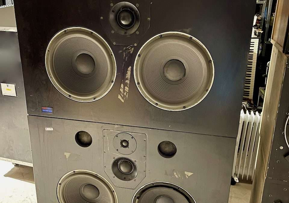 Quested Monitors from Sarm Studios with Amps and Crossovers For Sale