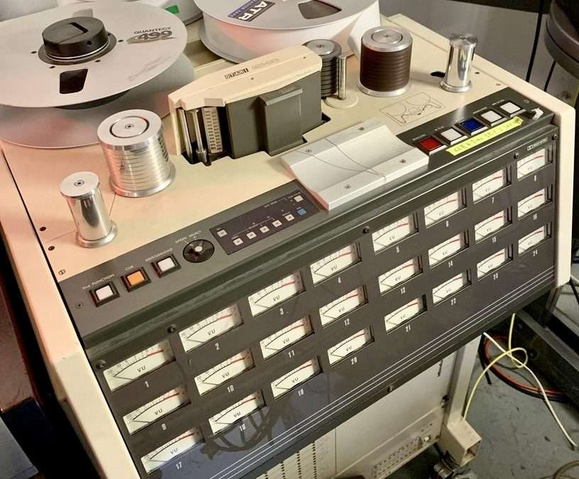 Otari MX80 Remote with Dolby A Rack For Sale